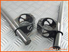 50mm Clip Ons Handle Bars Kawasaki ZX6R 03-2008 Fork CNC Hollow Cut Out Clip On