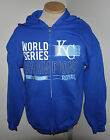 Kansas City Royals 2015 World Series Champions Blue Zipper Sweatshirt Hoodie on Ebay