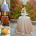 72'' Round Wedding Beautiful Sequin Table Cloth/Overlay/Cover,Choose colors!!
