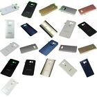OEM Battery Back Cover Glass Panel with Adhesive Preinstalled For Samsung Galaxy