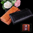 New Fashion Women Lady PU Leather Clutch Wallet Hollow Long Holder Purse Handbag