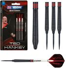 Ted Hankey Black Onyx 90% Tungsten Steel Tip Darts by Winmau - Choose 24g or 26g