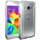 For Galaxy Core Prime | [Slim Thin] TPU Bumper Shockproof Clear Case Cover