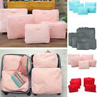 5 In 1 Waterproof Clothes Storage Bags Packing Cube Travel Luggage #B Organizer