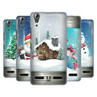 HEAD CASE DESIGNS CHRISTMAS IN JARS HARD BACK CASE FOR LENOVO A6000 / A6000 PLUS