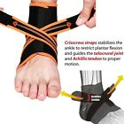 Ankle Support Brace Ankle Tight Strap Achilles Tendon Basketball Stabilizer D5