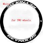 Carbon Road Bike Stickers for Reynolds Bicycle vinyl Decals Rim Depth 46 50 mm