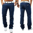 CHINO Stretch Stil Jeans Hose Slim Fit Chinohose Trousers University Plus