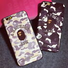 A Bathing Ape Hard Soft Case Cover Shell Housing Protector for iPhone 6 6S Plus