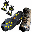 US Ice Snow Cleats Anti-Slip Shoes Covers Studded Boot Traction Spike Crampons