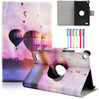 """Patterned Leather Wallet Stand Rotate Case Cover For Amazon Kindle Fire 7"""" 2015"""