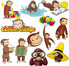 CURIOUS GEORGE wall stickers (11 images in 3 size to choose from) PRE-CUT