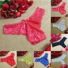 Women Sexy Lace Underwear Panties Bikini Knickers Lingerie Thongs G-string Nice