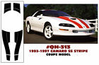 GE-QH-313 1993-97 CHEVY CAMARO SS - COUPE OR T-TOP - STRIPE KIT - NO ROOF SECTIO