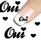 10 sticker ongles nail art decoration ongle stickers vernis gel oui mariage