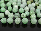 100Pcs Natural Jadeite Nephrite Jade Gemstones Round Loose Beads 5mm 6mm 7mm
