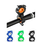 RockBros Bicycle Light Bracket Clip Flashlight Stand Rotatable Front Lamp Holder