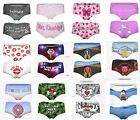"Printed Ladies SEXY PANTIES Underwear Waist sizes 24"" to 27"" Choice of Design"