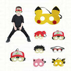 Pokemon Masks - Felt masks for Kids Halloween Costume Birthday Party Favor