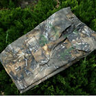 Mens Real Tree Camouflage Cargo Shorts Hunting Fishing Half Pants Relaxed Fit