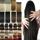 """Hair Extensions Real Thick 1PCS 3/4 Full Head Clip In Long 17-30"""" as human SL6"""