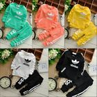 New 2PCS tracksuit Baby Boys/Girls Clothing Set Long Sleeve Shirt, Pants