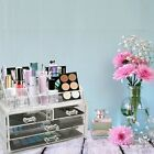 Makeup Cosmetic Clear Acrylic Organizer Drawer Case Storage Insert Holder Box
