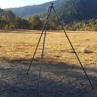 Outdoor Cooking / Cast Iron Tripod for Coffee or Dutch Oven over the Campfire.