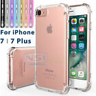 Crystal Clear Transparent Shockproof Soft TPU Case Cover For iPhone 7/ 7 Plus