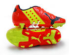 PUMA 102964-01 evoPOWER 4 FG Jr US YOUTH soccer cleats Medium Red Synthetic