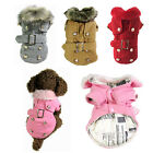 Pet Dog Cat Winter Warm Coat Clothes Puppy Cotton Padded Thicken Coat Costumes