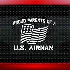 Proud Air Force Parents #1 Car Decal Window Vinyl Sticker Mom Dad USA 20 COLORS!