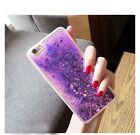 Shockproof Glitter Heart Quicksand Sparkle Liquid Soft TPU Case Cover For Phones