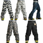 SOUTH PLAY Mens Ski SnowBoard Waterproof Snow Winter Pants Trousers COLLECTION