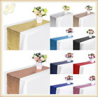 X5 X10 Bulk Satin Sequin Table Runners Cloth Party Wedding Event Home Decoration