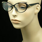 Clear lens glasses men women cat eye wear hipster frame new horn rim nerd geek