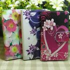 Lovely Beautiful Flower Wallet Kickstand Flip case cover for Sony Xperia Phone