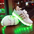 Kids Children Boys Girls Luminous Sneakers Running shoes Led Light Up Shoes