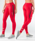 Virus Women's Stay Cool Eco33 Compression Pants RED,Crossfit, Yoga, Gym