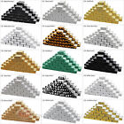 """50 Cotton Filled Cardboard Jewelry Gift Boxes Paper 2 1/8"""" x 1 5/8"""" x 3/4""""H"""