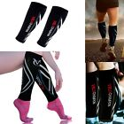 VeloChampion Pair Compression Calf Guards Sleeves Running Cycling Shin Splints