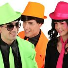 Tribly Hut Neon Farben Dance Musical Trilby Schlagerparty DJ Schlager Cappello