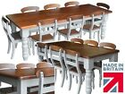 Traditional Painted Farmhouse Dining Sets with Country Chairs. Various Sizes!