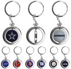 NFL Football Team Logo Metal Spinner Keychain - Choose Team on eBay