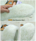 Shoes insole Real Sheepskin Wool Soft Cushion Shoes Warmers Soles / Size 6 ~ 11