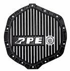 FITS 03-13 ONLY DODGE RAM DIESEL PPE HEAVY DUTY DIFFERENTIAL COVER - BRUSHED.