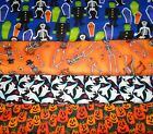 HALLOWEEN CLEARANCE #1  FABRICS Sold INDIVIDUALLY NOT AS  GROUP By the HALF YARD
