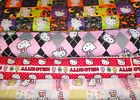 HELLO KITTY #8  FABRICS Sold INDIVIDUALLY NOT AS A GROUP By the HALF YARD