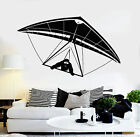 Vinyl Wall Decal Hang Gliding Glider Air Sports Stickers Mural (ig4379)