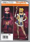 Simplicity Sewing PATTERN 1092 Anime Manga Girl Sailor Moon Cosplay Costume